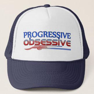 Progressive Obsessive Trucker Hat