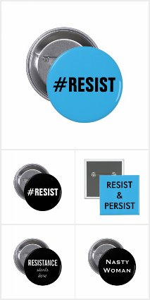 Progressive Political Pins