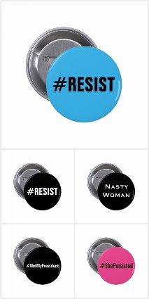 Progressive Political Pins