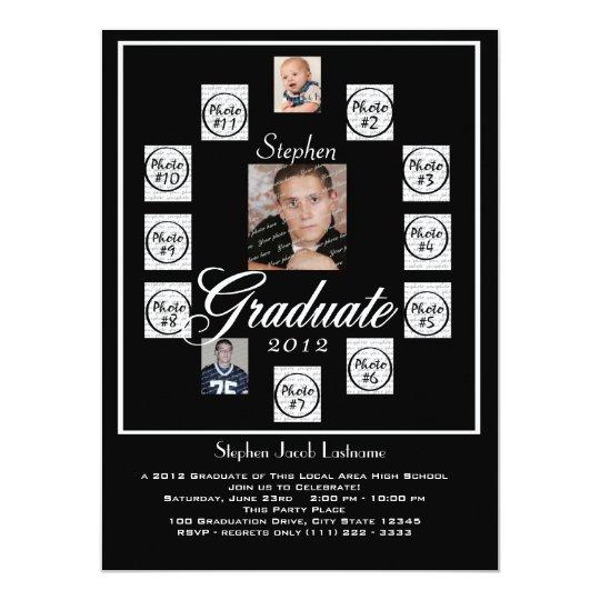 Progressive Years Graduation Photo Card