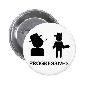 Progressives Pinback Buttons
