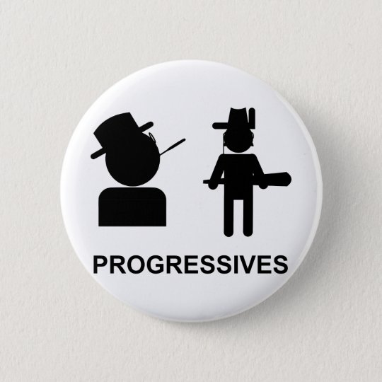 Progressives Pinback Button