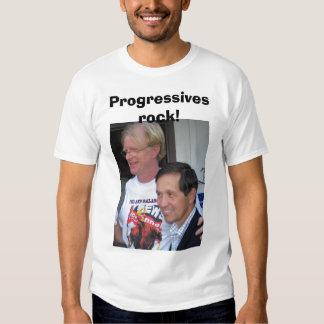 Progressives rock! shirt
