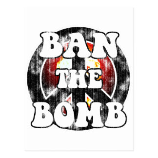 Prohíba la bomba (la mirada llevada) postales