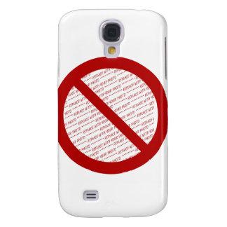 Prohíba o símbolo de la prohibición - añada la