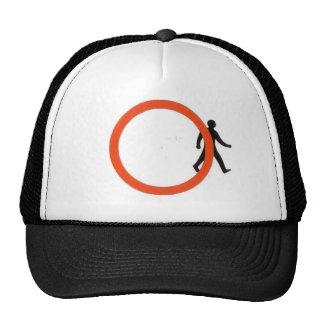 Prohibición cruzada gorras
