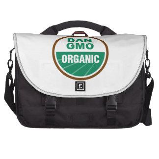 Prohibición GMO orgánico Bolsas De Portatil