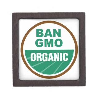 Prohibición GMO orgánico Caja De Regalo De Calidad