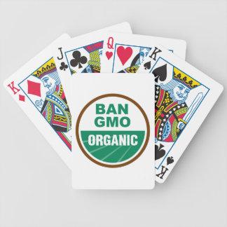 Prohibición GMO orgánico Baraja