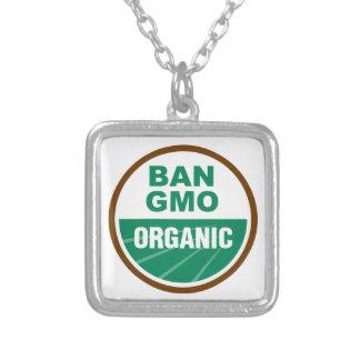 Prohibición GMO orgánico Grimpolas Personalizadas