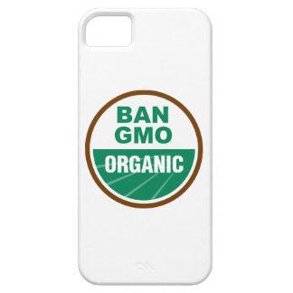 Prohibición GMO orgánico iPhone 5 Case-Mate Carcasas