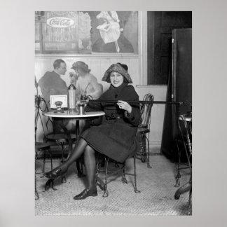 Prohibición que inclina a Cane 1922 Posters