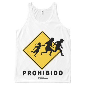 Prohibido - Politiclothes Humor -.png All-Over Print Tank Top