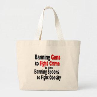 Prohibiendo los armas para luchar crimen… bolsa