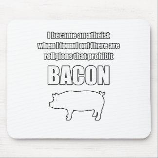 prohibit bacon mouse pad