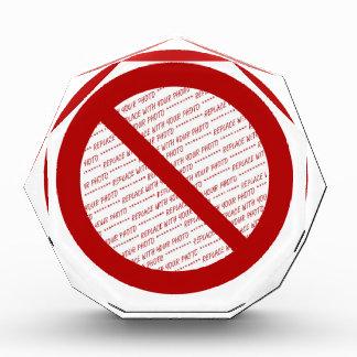 Prohibit or Ban Symbol - Add Image Award