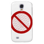 Prohibit or Ban Symbol - Add Image Galaxy S4 Covers