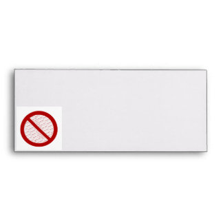 Prohibit or Ban Symbol - Add Image Envelope