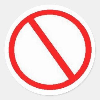 PROHIBIT - stickers