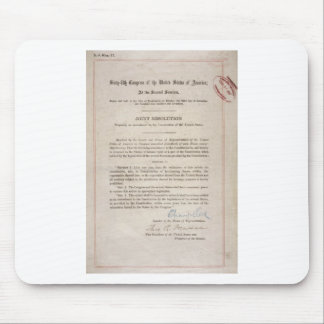 Prohibition 18th Amendment Mouse Pad