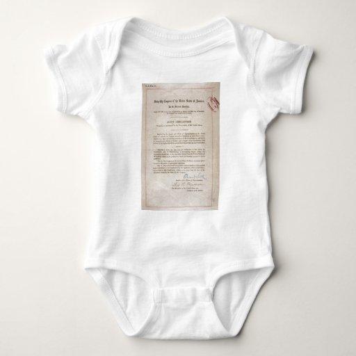 Prohibition 18th Amendment Tee Shirt