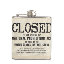 Prohibition Flask