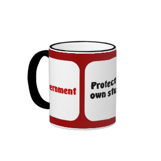 Prohibition is how the government saves you from y ringer mug