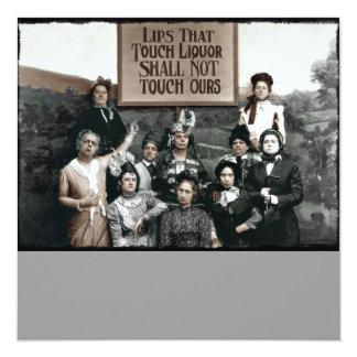 Prohibition Ladies Card