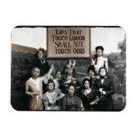 Prohibition Ladies Flexible Magnets