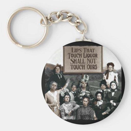 Prohibition Ladies Key Chain