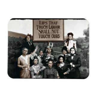 Prohibition Ladies Rectangular Photo Magnet