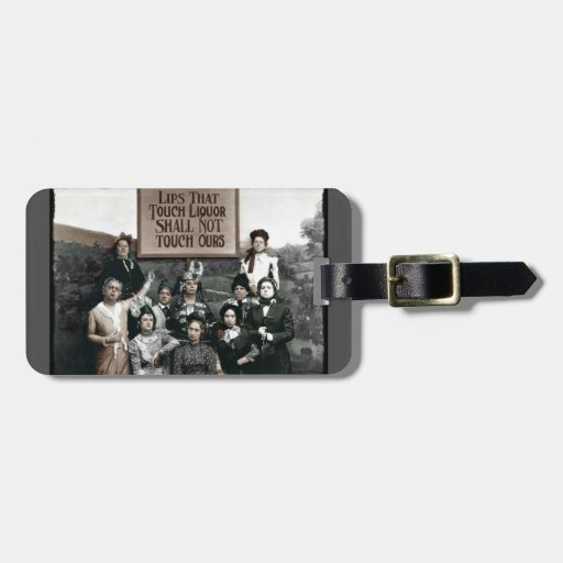 Prohibition Ladies Tag For Bags