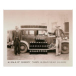 Prohibition Whiskey Raid, Kilgore, TX 1931 Poster