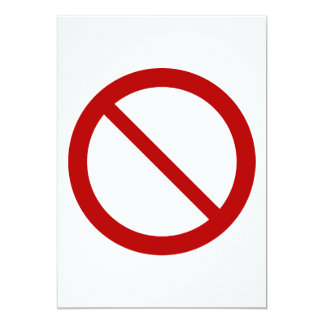ProhibitionSign2_Vector_Clipart prohibition not Card