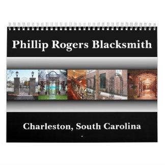 Project3, Phillip Rogers Blacksmith, Charleston... Calendar