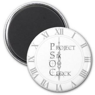 Project 6 O Clock Magnet