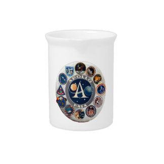Project Apollo: The Composite Logo Beverage Pitcher