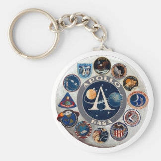 Project Apollo: The Composite Logo Keychain