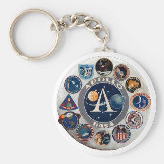Project Apollo: The Composite Logo Key Chains