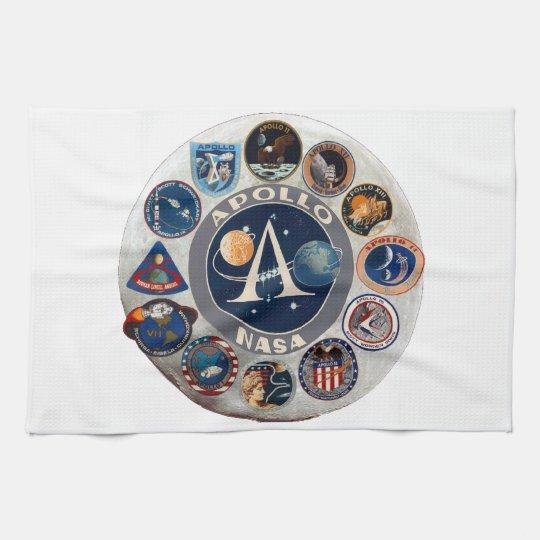 Project Apollo: The Composite Logo Kitchen Towel