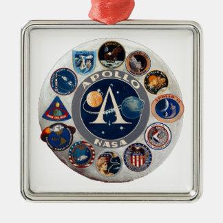 Project Apollo The Composite Logo Christmas Ornaments