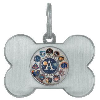 Project Apollo: The Composite Logo Pet Tag