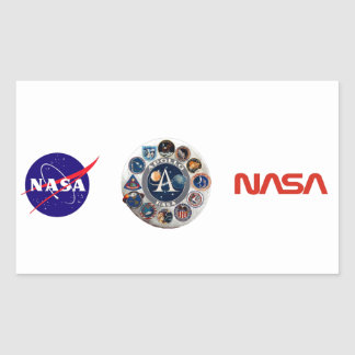 Project Apollo: The Composite Logo Rectangular Sticker