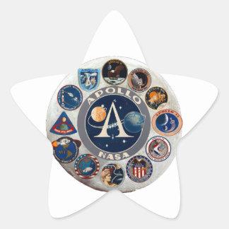 Project Apollo: The Composite Logo Star Sticker
