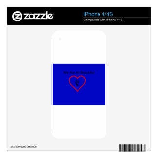 Project Beautification Official iPhone 4S Decals