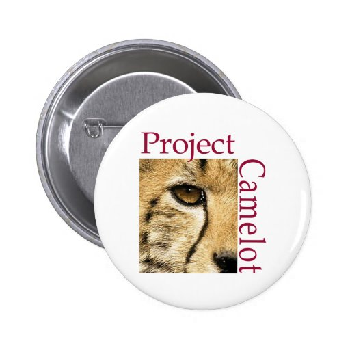 Project Camelot 2 Inch Round Button