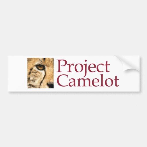 Project Camelot Car Bumper Sticker