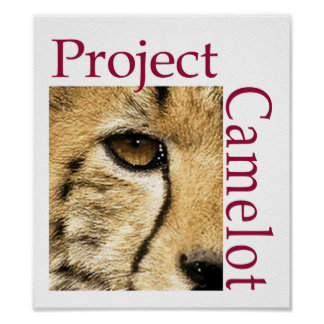 Project Camelot Logo Poster