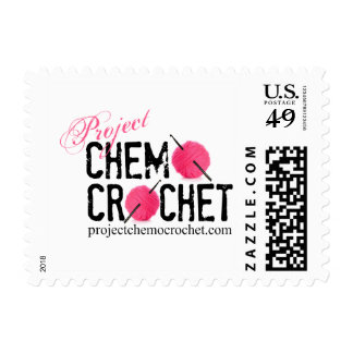 Project Chemo Crochet logo stamps