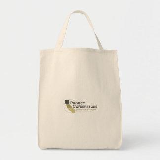 Project Cornerstone Canvas Bag